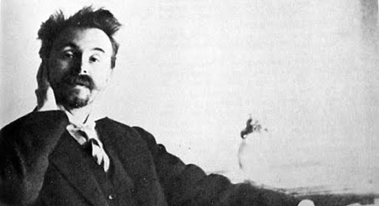 Scriabin having just finished Prometheus
