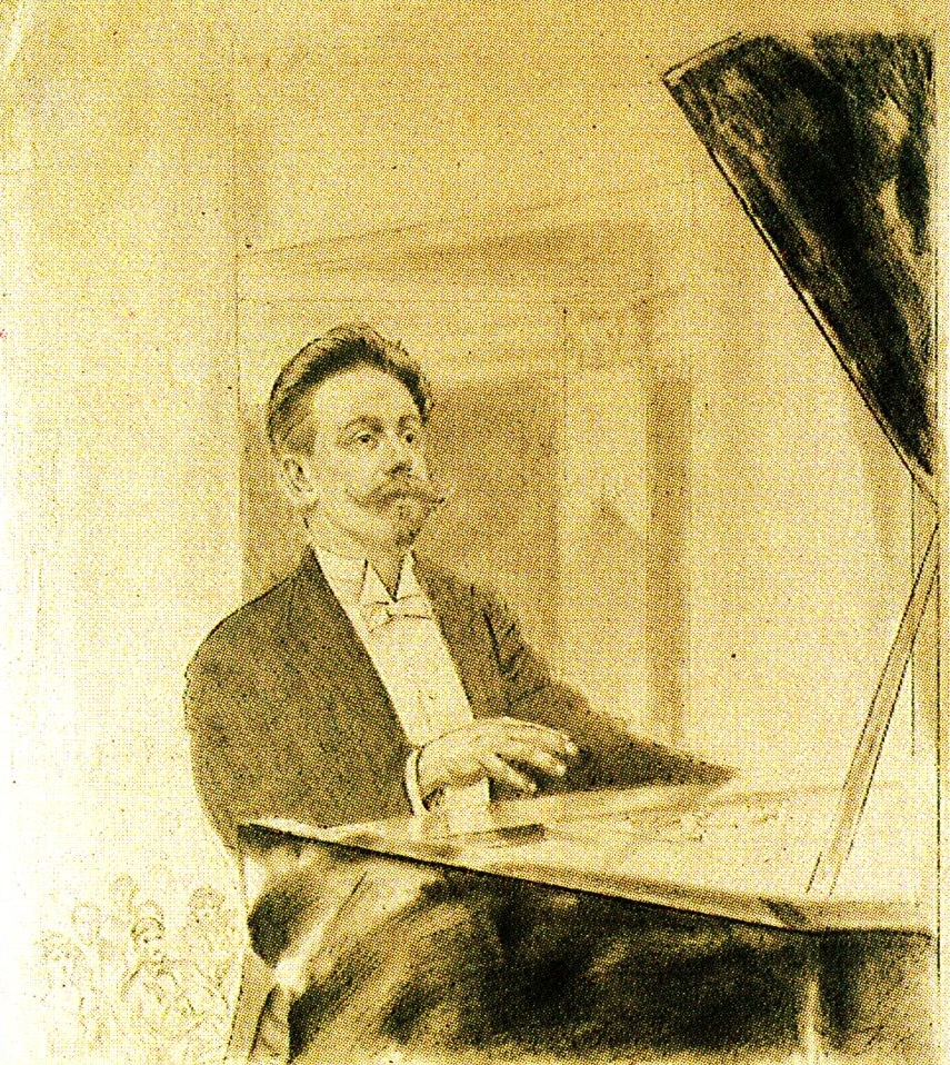 Scriabin at his last recital